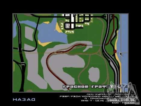 A cidade subterrânea secreta v 1.0 para GTA San Andreas por diante tela