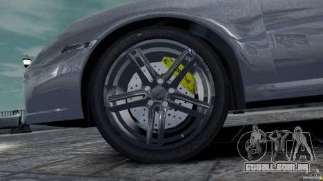 Porsche Targa 4S 2009 para GTA 4 vista interior