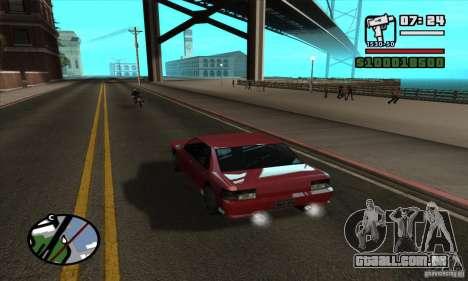 Enb Series HD v2 para GTA San Andreas segunda tela