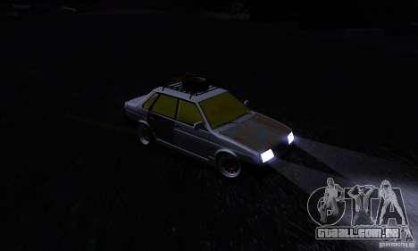 Olhar de rato 21099 VAZ para GTA San Andreas vista interior