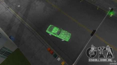 Reptilien banshee para GTA Vice City vista traseira