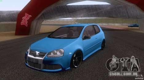 VW Golf 5 R32 2006 StanceWorks para GTA San Andreas