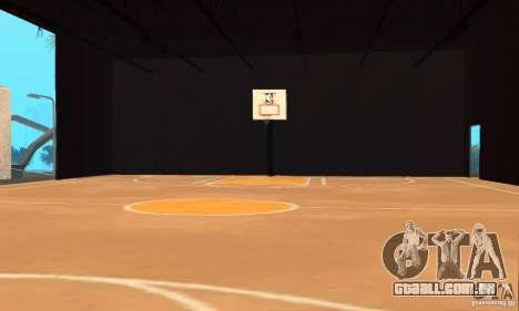 Basketball Court v6.0 para GTA San Andreas