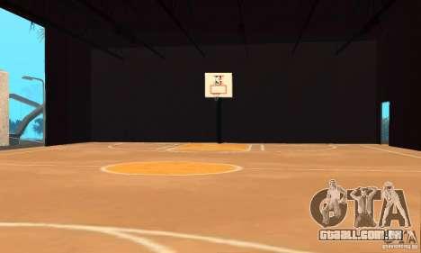 Basketball Court v6.0 para GTA San Andreas segunda tela
