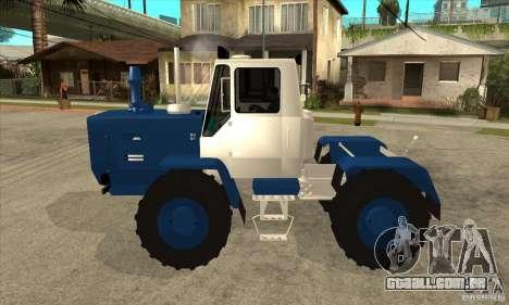 Corte de trator para GTA San Andreas esquerda vista
