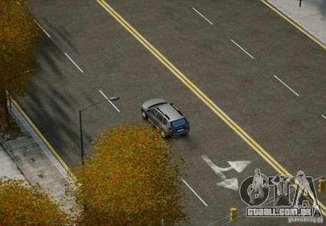 HD Roads para GTA 4 por diante tela