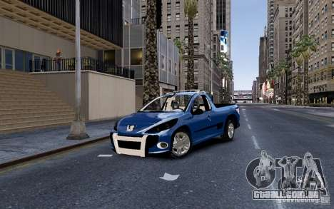 Peugeot Hoggar Escapade para GTA 4