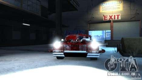 Apocalyptic Mustang Concept (Beta) para GTA 4 traseira esquerda vista