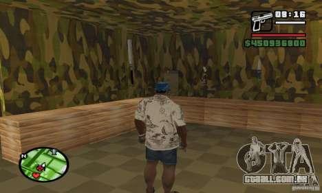 Loja de armas em Grove para GTA San Andreas terceira tela