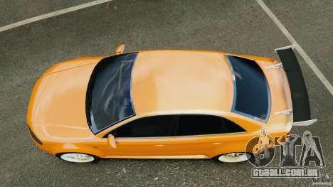 Audi RS4 EmreAKIN Edition para GTA 4 vista direita