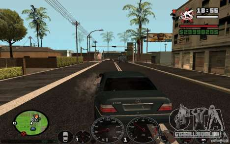 Atirar do carro no GTA 4 para GTA San Andreas terceira tela