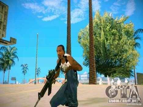 Armas Pack HD para GTA San Andreas sétima tela