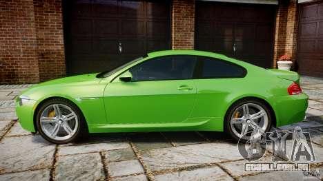 BMW M6 2010 v1.0 para GTA 4 esquerda vista