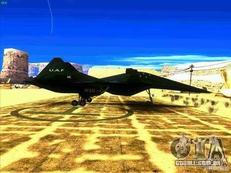 ADF-01 Falken para GTA San Andreas vista direita