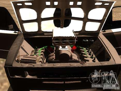 VAZ 2106 Drag Racing para GTA San Andreas vista superior