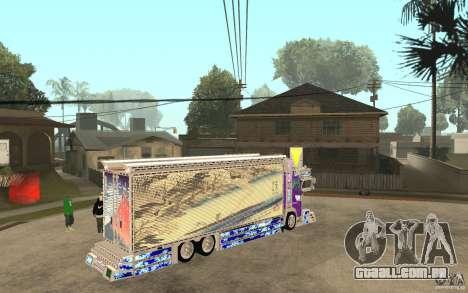 ART TRACK para GTA San Andreas vista direita