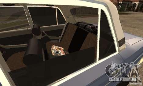 2106 VAZ velho v 2.0 para GTA San Andreas esquerda vista