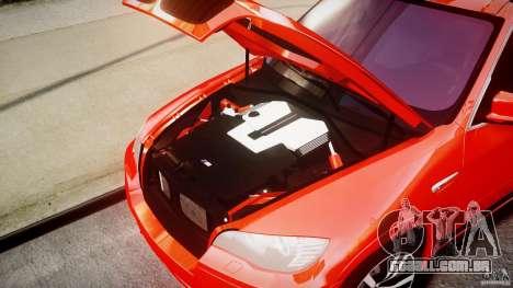 BMW X5M Chrome para GTA 4 vista direita