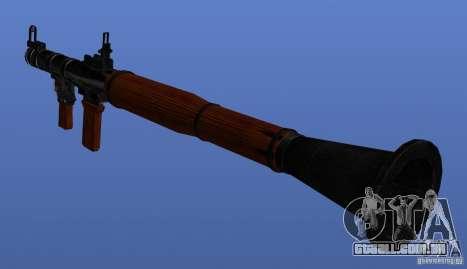 Weapons Retex para GTA 4 quinto tela