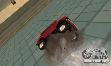 VAZ 2121 Niva para GTA San Andreas vista interior