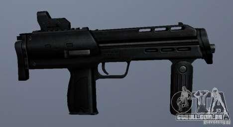MP7 para GTA San Andreas por diante tela