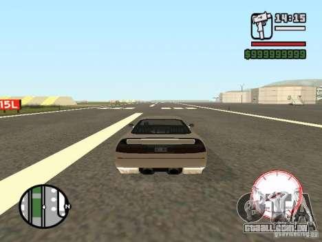 Velocímetro DepositFiles para GTA San Andreas segunda tela