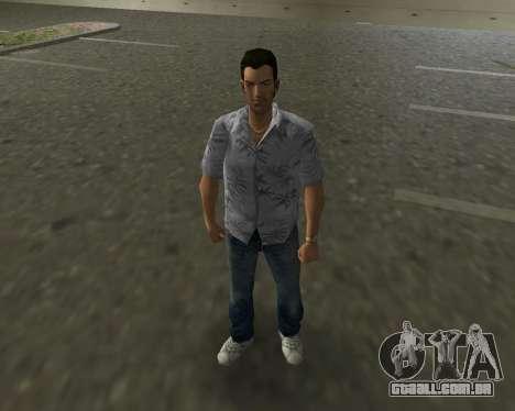 Camisa cinza para GTA Vice City