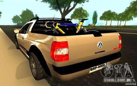 Volkswagen Saveiro para GTA San Andreas esquerda vista