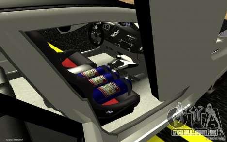 Honda Civic Type R para vista lateral GTA San Andreas