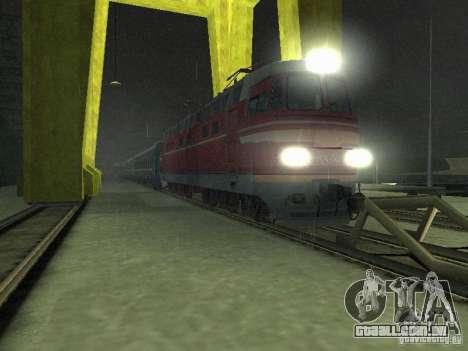 Interruptor rail shooter para GTA San Andreas