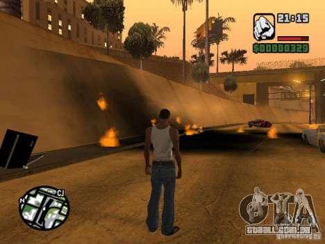 Kyubi-Bomb para GTA San Andreas segunda tela