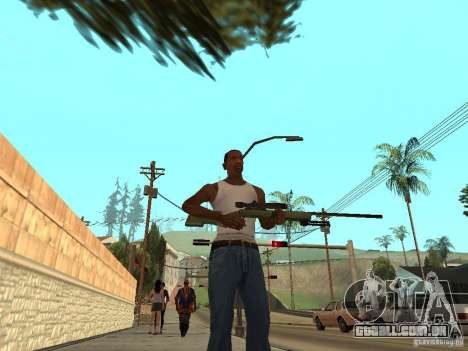 M40A3 para GTA San Andreas