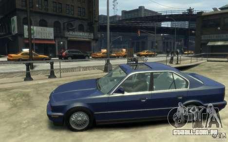 BMW 535i (E34) para GTA 4 esquerda vista