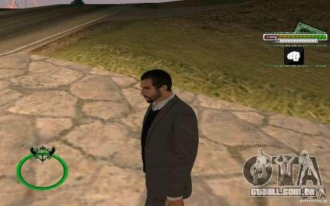 Novo empresário pele HD para GTA San Andreas segunda tela