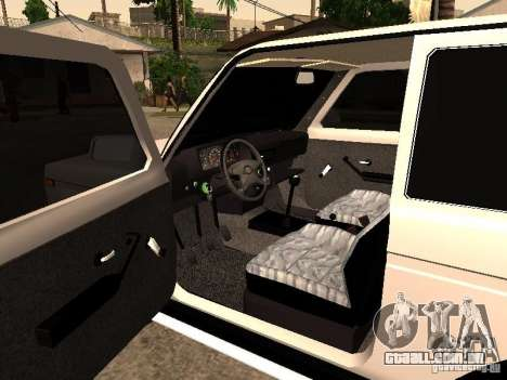 Armenian NIVA DORJAR 4 x 4 para GTA San Andreas vista traseira