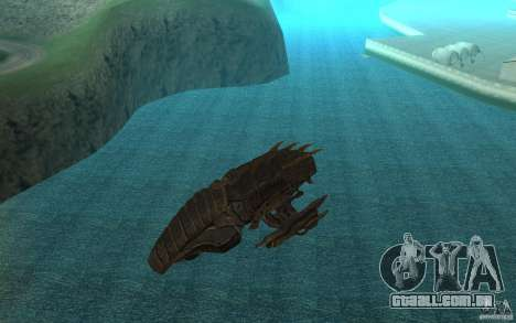 Nave predador do jogo Aliens vs Predator 3 para GTA San Andreas