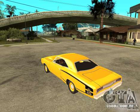 Dodge Coronet Super Bee 70 para GTA San Andreas esquerda vista