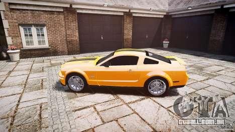 Shelby GT 500 KR 2008 K.I.T.T. para GTA 4 esquerda vista