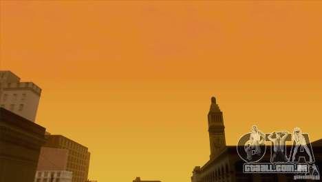 BM Timecyc v1.1 Real Sky para GTA San Andreas twelth tela