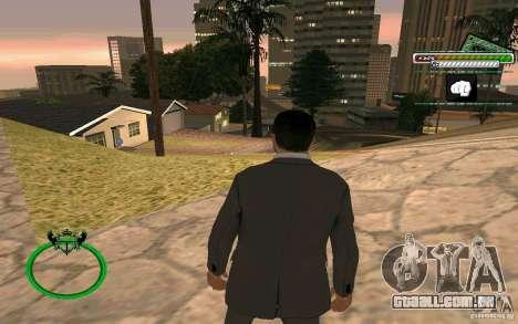 Novo empresário pele HD para GTA San Andreas por diante tela