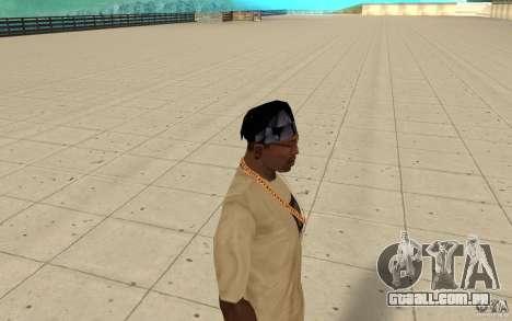 Vidro de bandana para GTA San Andreas segunda tela