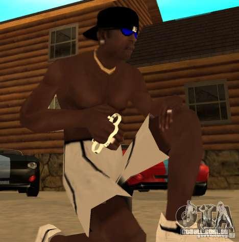 Novo brass knuckles para GTA San Andreas