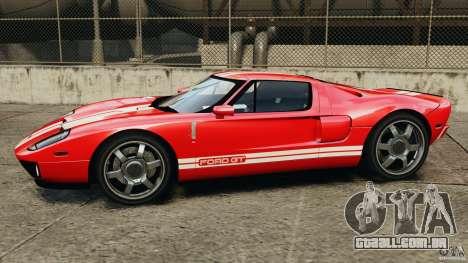 Ford GT 2005 v1.0 para GTA 4 esquerda vista