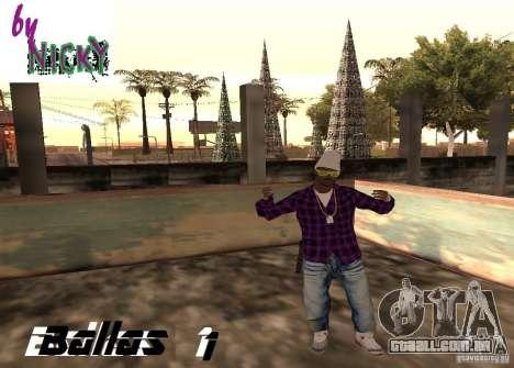 Pak peles Ballas para GTA San Andreas