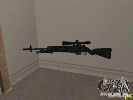 Armas do COD MW 2 para GTA San Andreas quinto tela