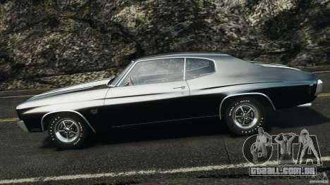 Chevrolet Chevelle SS 1970 v1.0 para GTA 4 esquerda vista