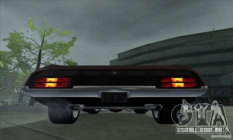 Ford Falcon GT Pursuit Special V8 Interceptor para GTA San Andreas vista direita