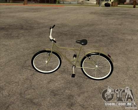 Bicicleta nova para GTA San Andreas vista traseira