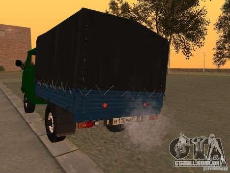 UAZ 39094 para GTA San Andreas traseira esquerda vista