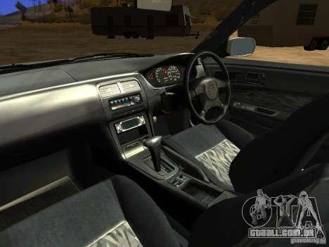 Nissan Silvia S14 JDM para GTA San Andreas vista superior